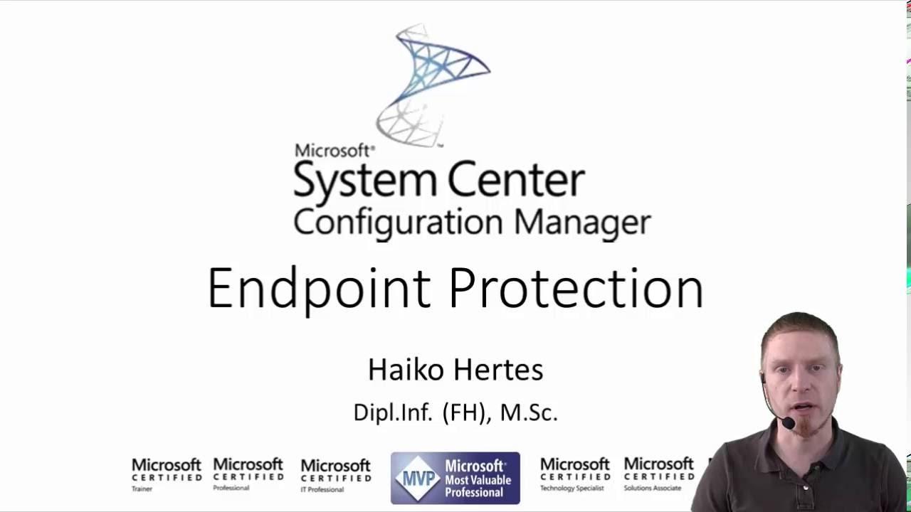 Sccm 2012 R2 1511 Installation Und Konfiguration Von Endpoint