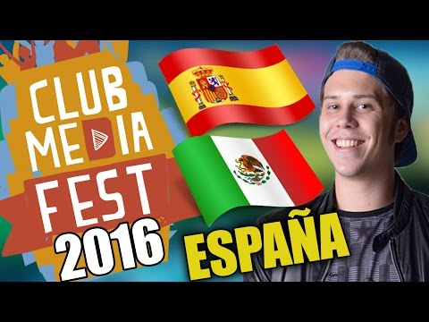 CLUB MEDIA FEST EN MEXICO Y ESPAÑA? ELRUBIUSOMG , THEWILLYREX , VEGETTA777 , ETC