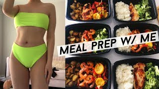 WEIGHT LOSS MEAL PREP WITH ME! Healthy & Fast