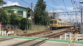 西武多摩川線 新101系 249F 旧塗装 白糸台~競艇場前