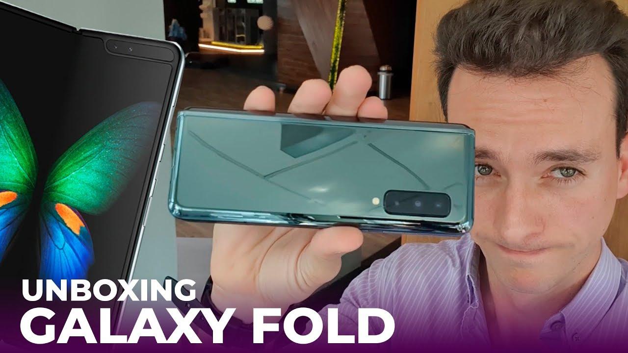 Unboxing Samsung Galaxy Fold, precio y disponibilidad en México