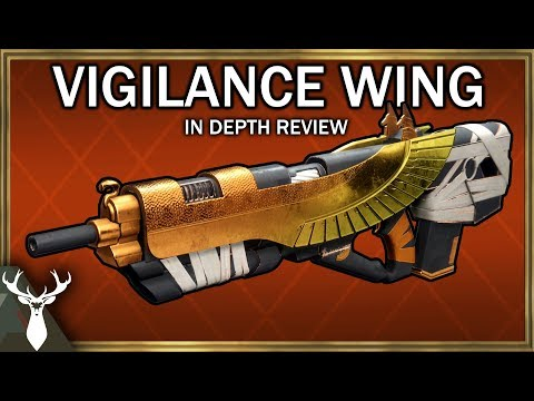 Destiny 2 - Vigilance Wing - In Depth Review (Exotic Kinetic Pulse Rifle)