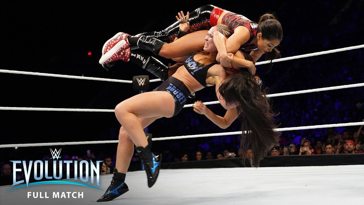 FULL MATCH - Ronda Rousey vs. Nikki Bella - Raw Women's Championship: WWE Evolution (WWE Networ