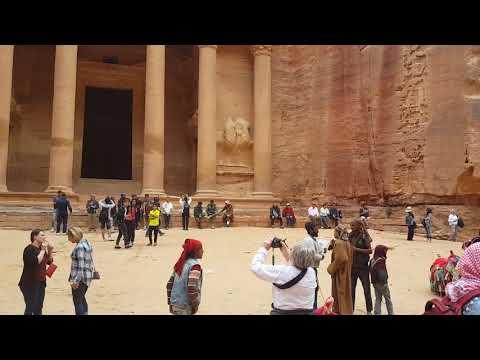 The  Lost City of Petra in Jordan