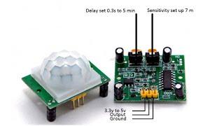PIR Motion Sensor Simple Test