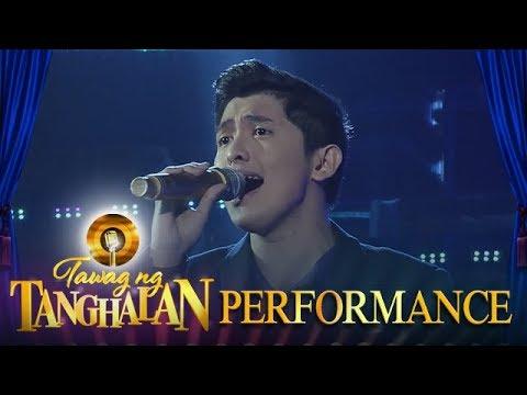 Tawag ng Tanghalan: Christian Niel Bahaya | Narito (Day 5 Semifinals)