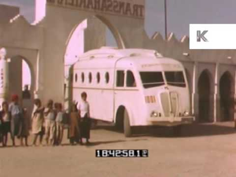 1940s 1950s Algeria, Transport
