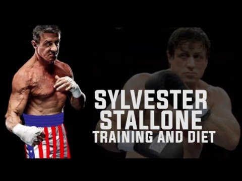 TRAINING ROUTINE AND DIET OF  sylvester stallone for Creed new rocky movie (motivation)