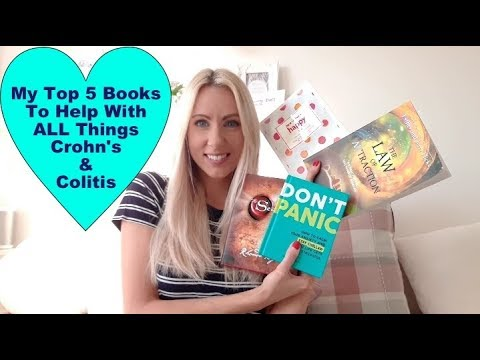 Crohn's and Colitis + Anxiety, Depression and Panic Attacks: Top 5 books to read in 2018
