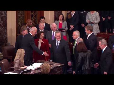 Senator Catherine Cortez Masto Takes Oath of Office