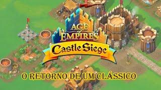 Age of Empires Castle Siege #1 - O retorno de um clássico