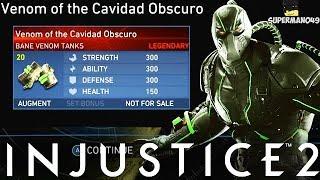 "I Got The Bane LEGENDARY GEAR! - Injustice 2 ""Bane"" Legendary Gear Gameplay"