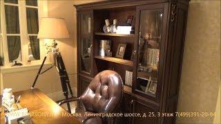 Видео обзор Книжный Шкаф и письменный Стол Крофорд, классика