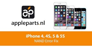 apple parts   iphone 4 4s 5 5s nand error fix