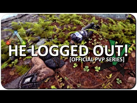 The Guy DC'd And Solo Raiding! | New Official PVP Servers | ARK: Survival Evolved | #16