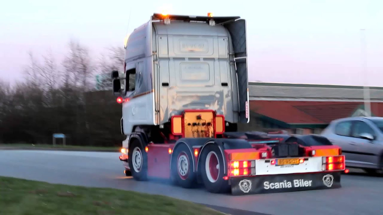 The Dutch Crew Leave S 248 Nderjysk Lastbilshow 2013 Youtube
