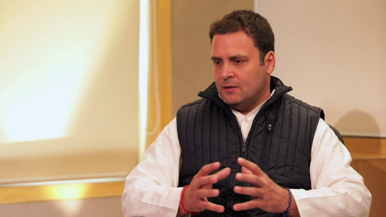 Congress President Elect Rahul Gandhi Interview with CNN News 18