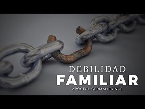 Apóstol German Ponce │ Debilidad Familiar │ viernes 15 mayo 2020
