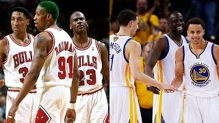 Why the 96 Chicago Bulls would beat todays Warriors