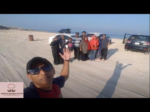 Friends & Family outing @ Al Ghariya Beach  Doha