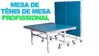 Medidas De Mesa De Ping Pong E Tenis De Mesa Profissional Com Rodas