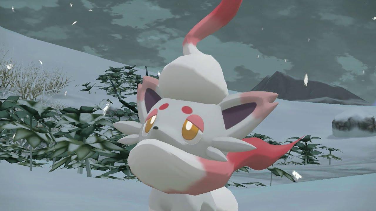 [UK] Introducing the Hisuian forms of Zorua and Zoroark!   Pokémon Legends: Arceus