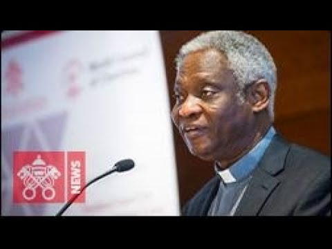 Meeting of Cardinal Turkson with Vatican Media