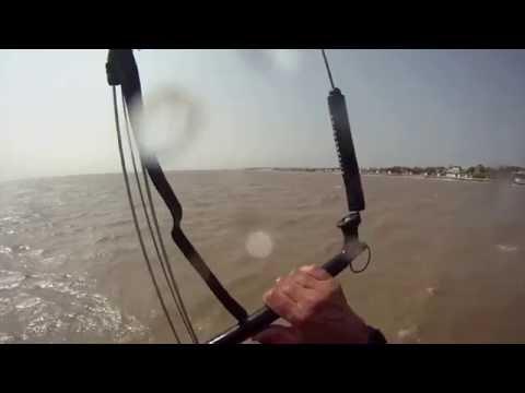 Flysurfer Speed 3 15m maxed out kitesurfing