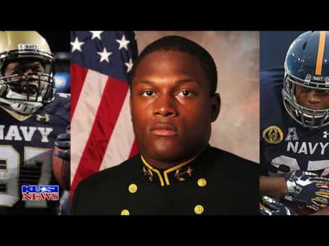 Chargers Rookie & Naval Officer Chris Swain