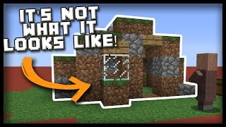 The Minecraft COMMAND BLOCK NOOB HOUSE!