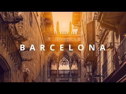 Travel to BARCELONA : on a warm summer day | A video about Spain