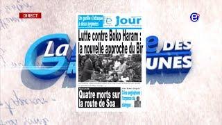 LA REVUE DES GRANDES UNES DU MERCREDI 28 AOUT 2019 - ÉQUINOXE TV