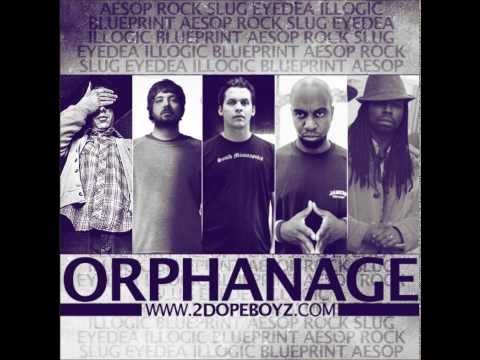 ORPHANAGE FREESTYLE (SAGE FRANCIS, FELIPE,  EYEDEA, SLUG, AESOP ROCK, ILLOGIC, BLUEPRINT)