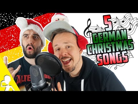 5 Traditional German Christmas Songs | Performed By 2 Untalented Germans | Get Germanized & VlogDave