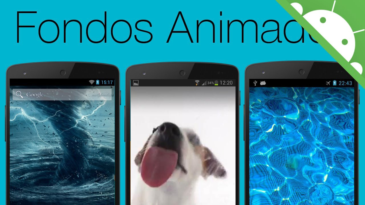 Top fondos de pantalla animados para android gratis youtube for Fondos de escritorio gratis