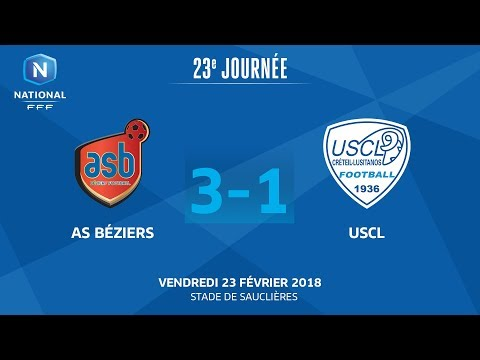 J23 : AS Béziers - USCL (3-1), le replay