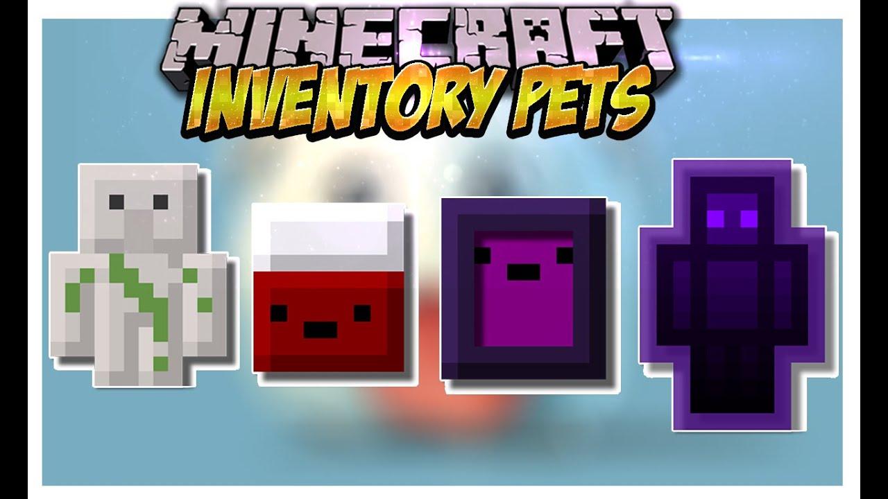 Inventory Pets Mod (Mascotas con super poderes!) Minecraft ...