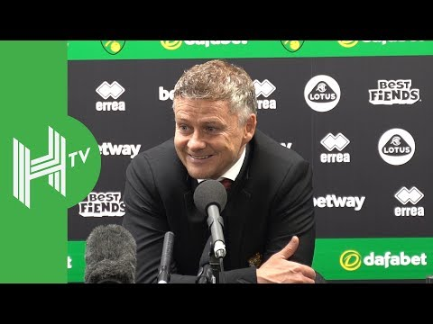Solksjaer | Norwich 1-3 Manchester United | Martial Is Back And On Fire