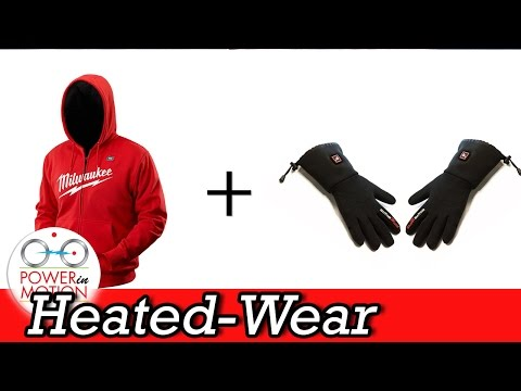 MOTIONHeat Gloves Compatibility With Milwaukee DeWalt Heated Jackets