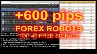 Forex Israel +600 Pips Live Trading - Forex Robots Israel