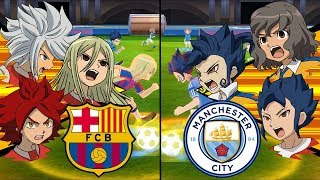 Inazuma Eleven UCL Finals ~ Barcelona vs Manchester City ※Pokemon Anchor※