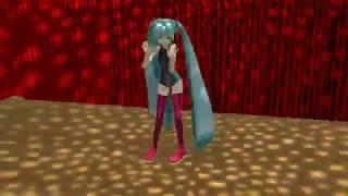 "MMD DiscoLightEX v003 Demo swimsuit Miku dances ""Feel the Sound"""