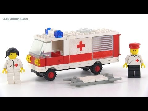 Lego classic town 6680 ambulance from 1981 youtube - Lego ambulance ...