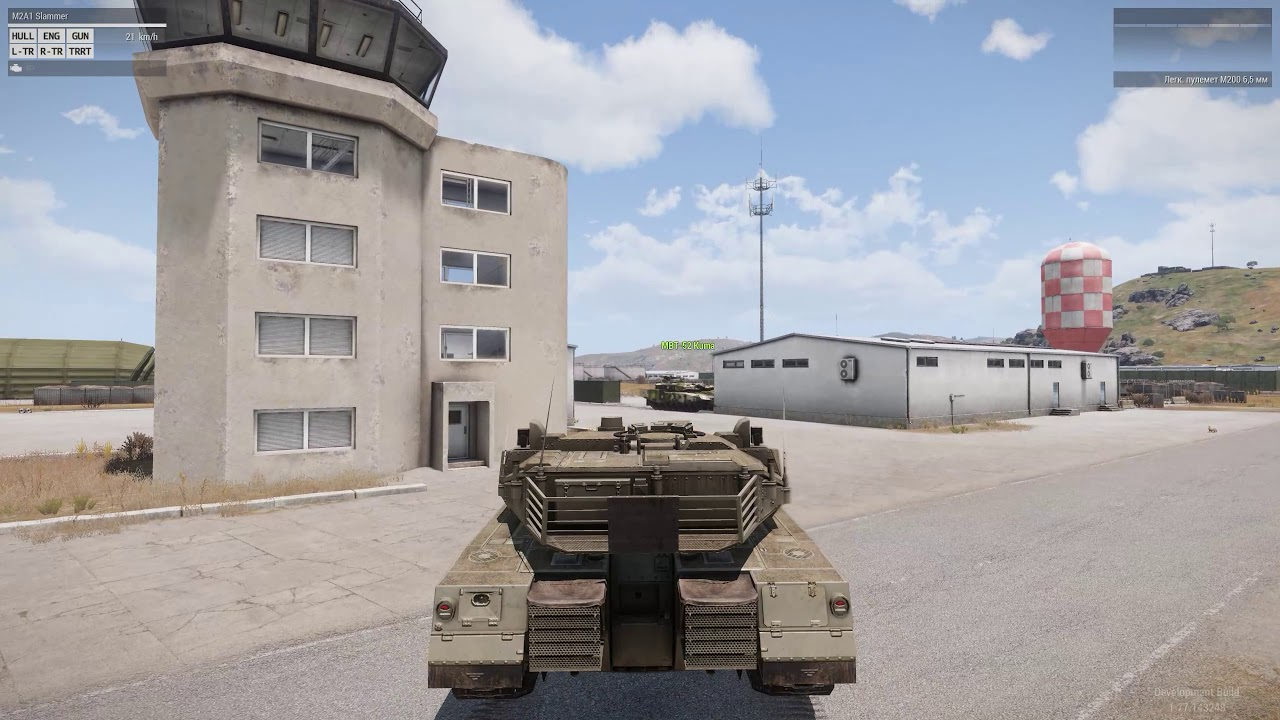 Tanks - tracked vehicles driving and handling - ARMA 3
