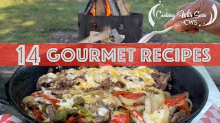 Camping Food Ideas | 14 Camṗing Meals | Hacks | What to Eat Outdoors | Gourmet Food Recipes | CWS