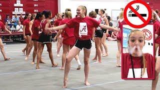 Alabama Gymnastics Camp | N๐ Smoking | Whitney Bjerken