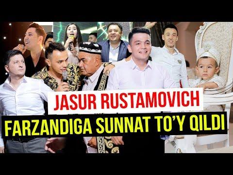 JASUR RUSTAMOVICH FARZANDIGA SUNNAT TO'Y QILDI