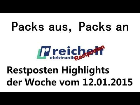 Reichelt Restposten Schnäppchen ab 12. Januar 2015