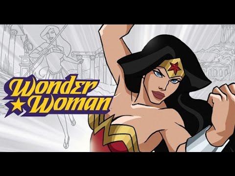 גיבורי על באנימציה - Wonder Woman