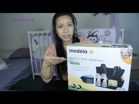 Unboxing: Medela Pump In Style Advanced with Tote Bag